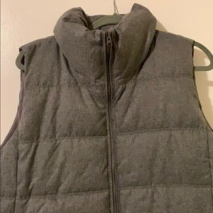 Grey XXL Fleece-Lined Vest